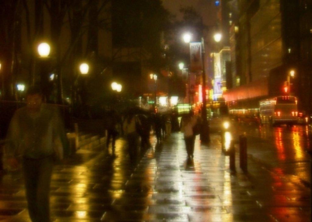 Rainy Steampunk City Audio Atmosphere