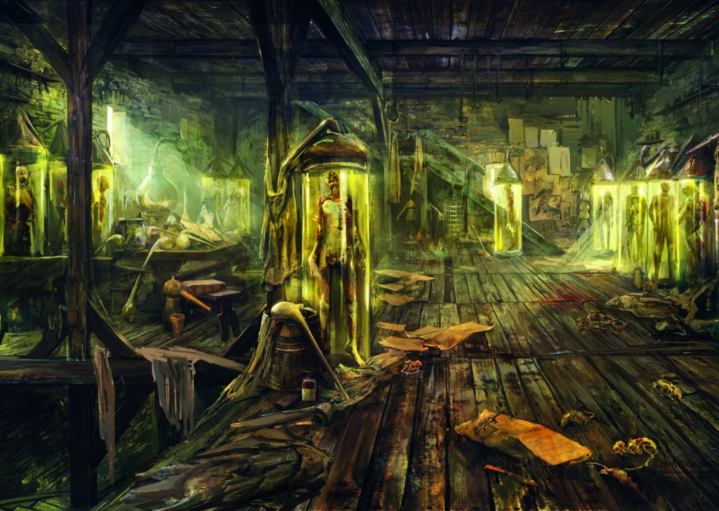 Atmosphere For Underground Lab Fantasy Setting Audio