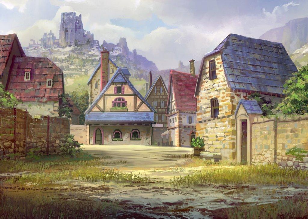 Phandalin (Small Town) - D&D, Fantasy, LMoP audio atmosphere