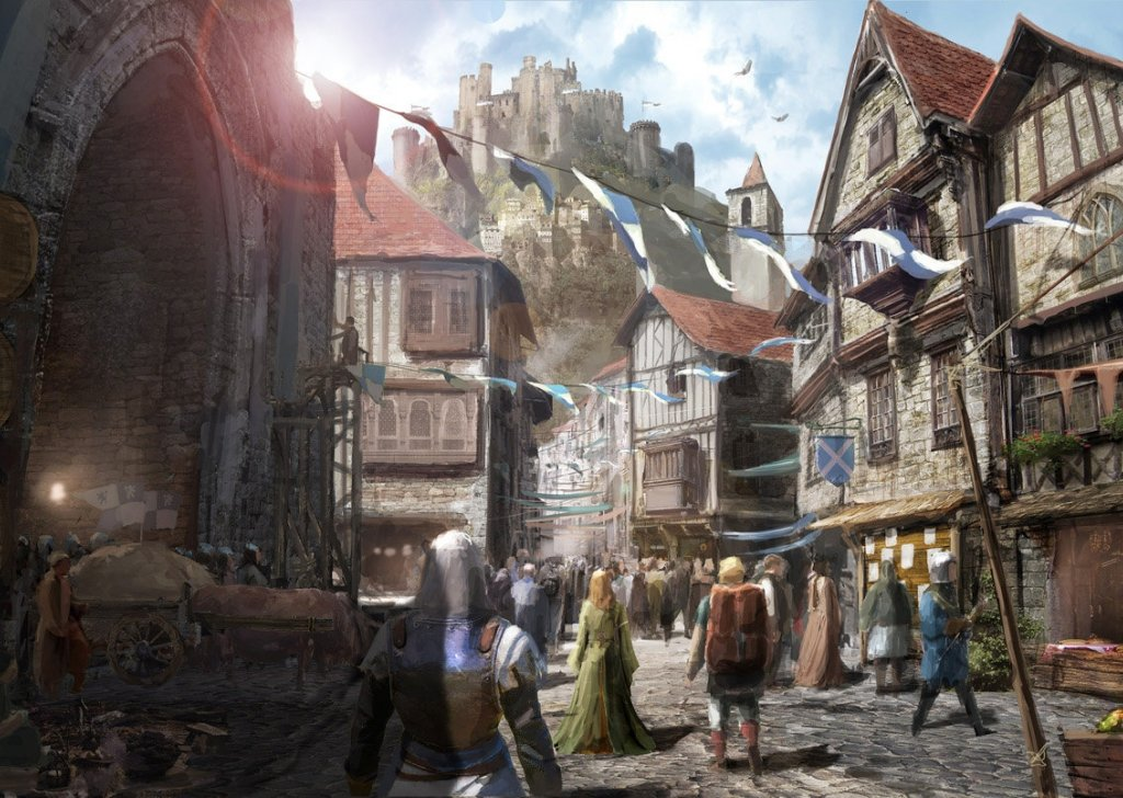 Image result for D&D city streets